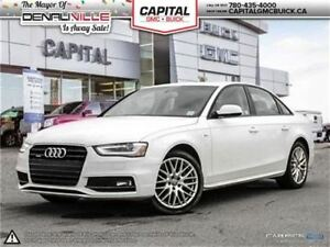 2015 Audi A4 Komfort Plus Quattro AWD Heated Leather-Push Butto