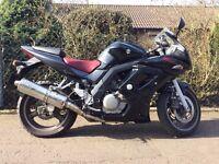 Suzuki SV 650 S (K8 Sport) Motorbike Motorcycle Black
