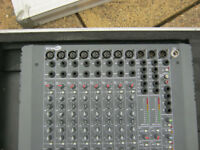 Soundcraft Spirit Live 32 mixer With Flight case and psu collection only