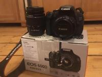 Canon EOS 600D DSLR bundle with two lenses