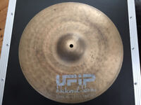"UFiP Natural Series 16"" Crash Cymbal - Rare - Earcreated Made in Italy drums cymbals"
