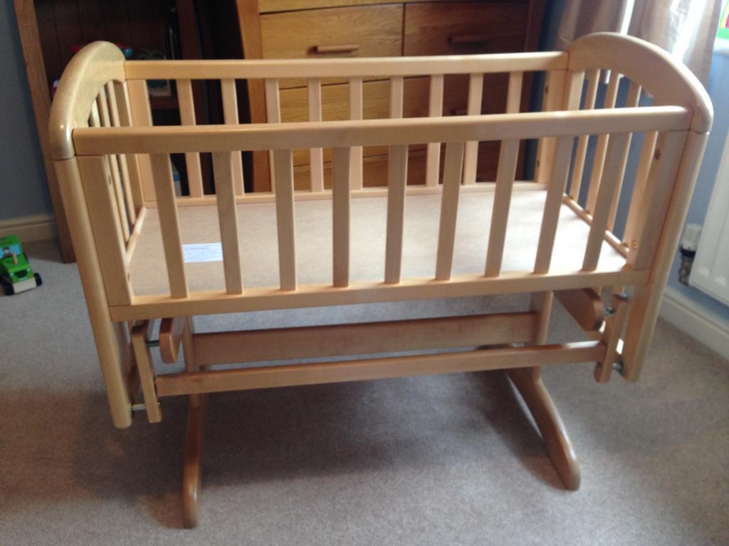 Baby cribs john lewis - John Lewis Anna Glider Crib Natural