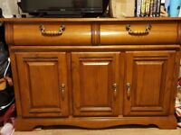 Solid wooden sideboard/cabinet