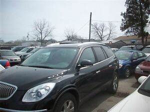 2010 Buick Enclave CXL LOADED WITH LEATHER CHROME WHEELS 7 RIDER