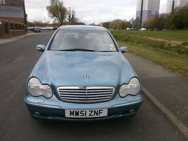 AUTOMATIC MERCEDES BENZ C220 TURBO DIESEL FULL MAIN DEALER SERVICE HISTORY