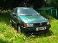 SPARES OR REPAIR - VW POLO AUTOMATIC