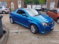 Vauxhall Tigra 2005 1.4 petrol convertible in very good condition MOT 16 10 2016