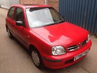 12 months mot cheap and reliable Nissan Micra 1.0 3dr service history and 2 keys