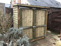 fence panels direct (new) heavy duty premium quality storage shed