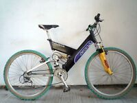 """(586) 26"""" 19"""" LIGHTWEIGHT ALUMINIUM QUANTUM MOUNTAIN BIKE BICYCLE H:173-193cm"""