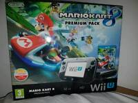 Wii U black 32GB Mario Kart 8