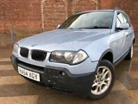 2004 BMW X3 DIESEL / ALLOYS / ELECTRIC WINDOWS / CD / AIR CON / JUNE MOT .