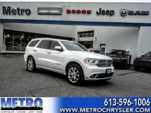 2016 Dodge Durango Citadel-FULLY LOADED -LOW MILEAGE