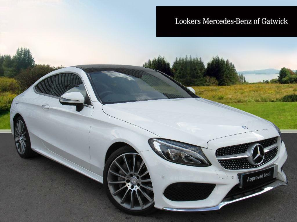mercedes benz c class c 250 d amg line premium plus white 2016 05 24 in crawley west sussex. Black Bedroom Furniture Sets. Home Design Ideas