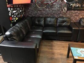 1x Corner sofa 1x3 seater 1x2 seater