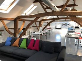 Modern Spacious Open Plan Converted Barn Office, Inclusive of all key services - power, internet etc
