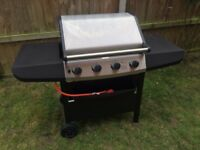 Four Burner Gas Barbecue (with cover)