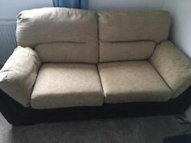2 seater, double sofa bed