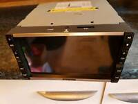 Double Din stereo TFT LCD Monitor with DVD player, SD and USB port