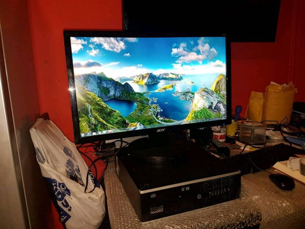 hp quad core gaming computer