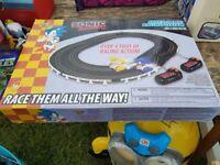 Remote race track