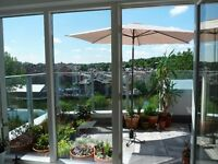Penthouse Apartment - with Roof Terrace - Embankment/Stranmilis