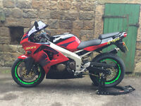 Kawazaki ZX6R - Stunning Condition with Low milage and Performance Mods