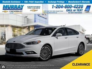 2017 Ford Fusion *Heated Leather Seats, Rear View Camera*