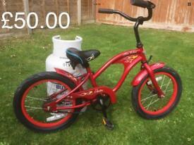 "Electra Mini Rod 16"" Red Children's Kids Bike -Pedal Brakes - GREAT XMAS PRESENT"
