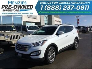 2016 Hyundai Santa Fe Sport Luxury AWD, Bluetooth, Sirius, Clean