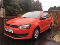 60 plate volkswagon polo 1.2 3dr *low mileage*