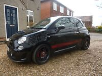 Black Abarth 500 with full history/cambelt change