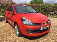 Renault Clio 1.2 Tce 16v Dynamique S 3 door 2008 One Owner FSH Low Mileage