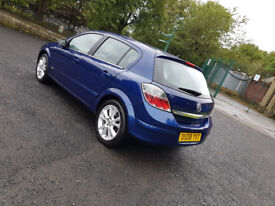 2008 VAUXHALL ASTRA DESIGN,1.9 CDTI,150 BHP,2 OWNERS,LONG MOT,99,000 MILES,DRIVES GREAT,P/X..