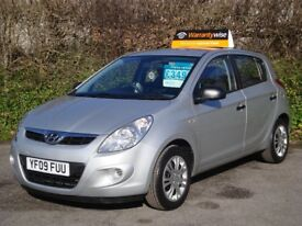 HYUNDAI I20 1.2 CLASSIC 5 DOOR finished in metallic SILVER