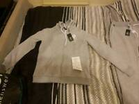 Genuine Brand new large grey gym king tracksuit with tags