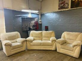 HARVEYS FABRIC SOFA SET IN EXCELLENT CONDITION 2-1-1 seater