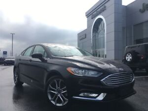 2017 Ford Fusion SE SUNROOF, BACKUP CAM, LEATHER $105* BI-WEEKLY