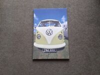 VW Campervan Canvas Picture.