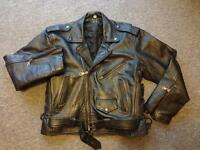 Vintage real leather jacket