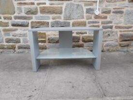 TV Stand Silver/Grey