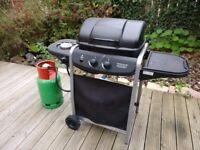 2 Burner Propane Gas BBQ with Side Burner