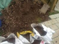 Free soil and stone mix