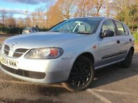 Automatic Nissan Almera 4 Door Just moted last week Winter Tyers replaced Mot 25 November 2017