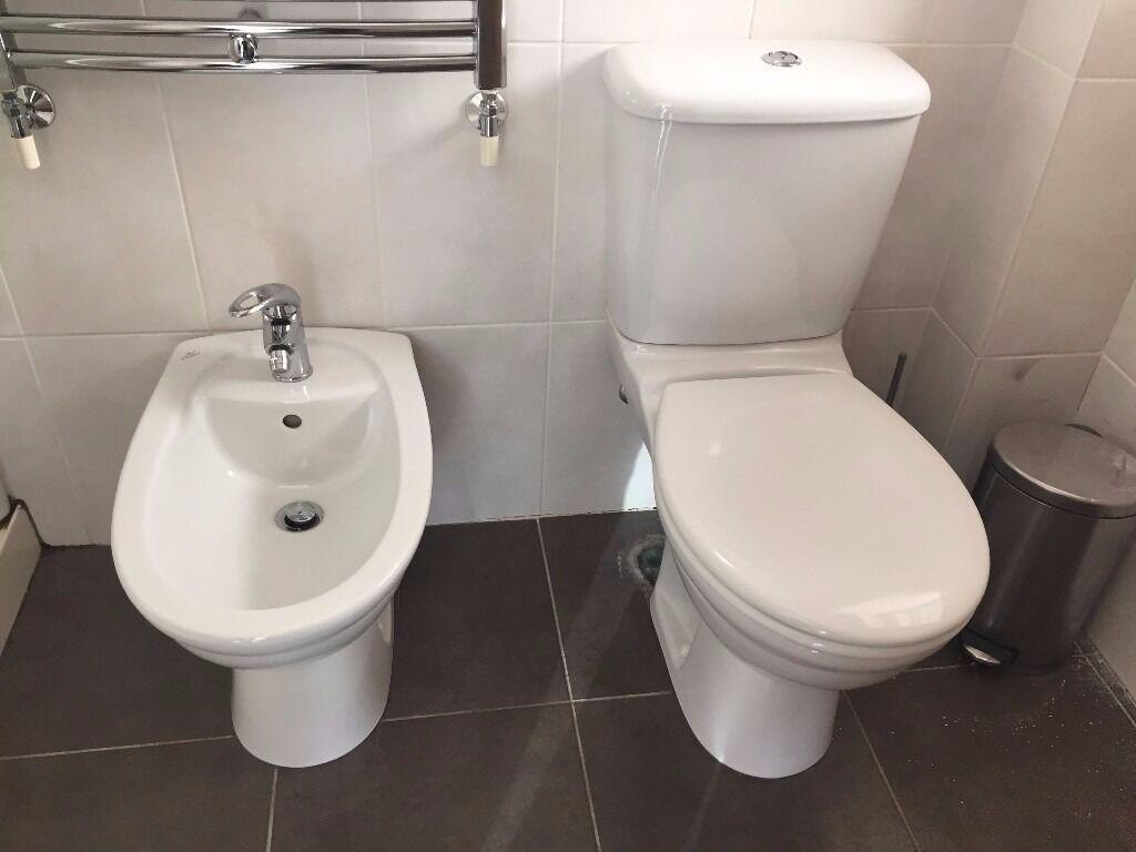 Radiator Voor Toilet : Ideal standard toilet and bidet with towel radiator and bathroom