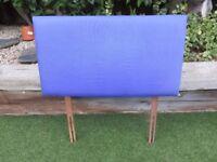 Single Bed Headboard - Purple