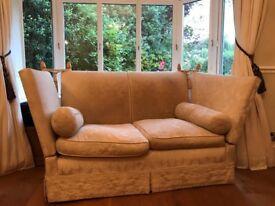 2 Seater Knoll Sofa
