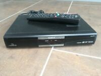 Humax FOXSAT HD Freesat set top box with remote