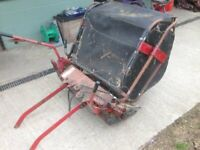 grass leaf brush sweeper goes behind ride on mower