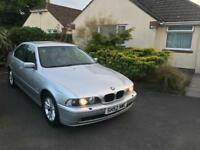 BMW 5-SERIES (525d) Automatic Diesel, full History NEW 12 MONTHS £750